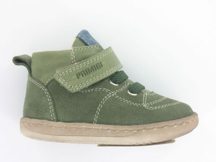 Primigi VITELLO Leather Velcro Boots (Green) 18 only!